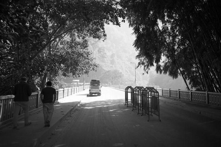 Entering Sikkim