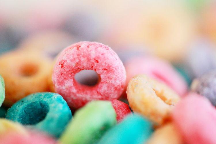 Detail shot of candies