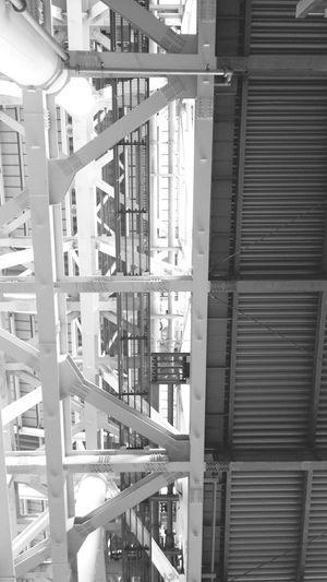 Umeda 梅田 Building Black & White