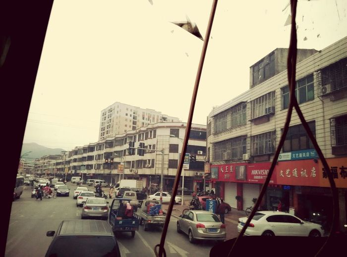 Took in the bus on the way to xiamen. Hi! Familiar town i used to spend 3 yrs studying here. MISS My senior high school life