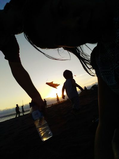 Beach Sunset Future Familiy Goal