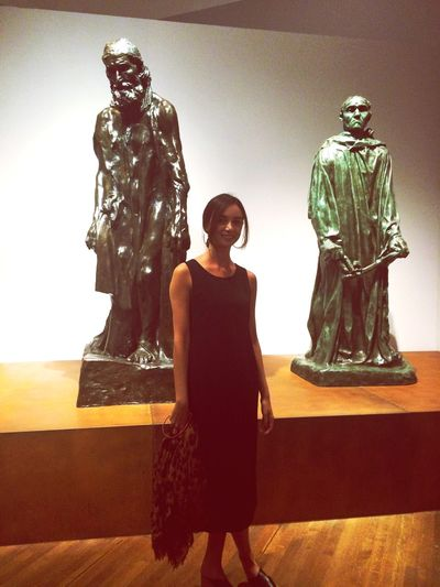 Pose With Rodin Scultures Art Exhibition Discovering Great Works