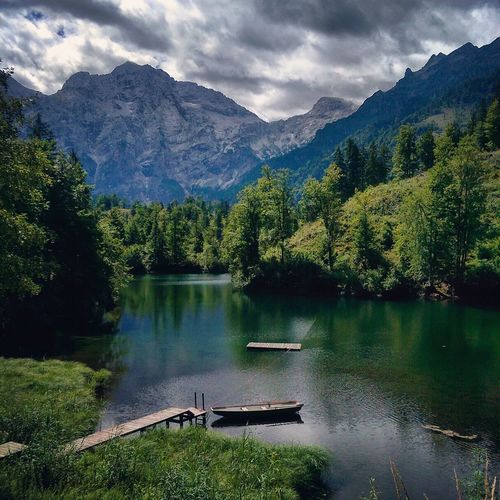 Austria Free Freelance Life Lake Landscape Hill Water Scenics - Nature Mountain Beauty In Nature Reflection Plant Cloud - Sky Sky Nature Idyllic Forest