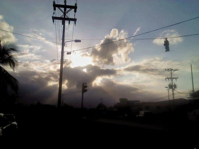 Puesta De Sol Puertolimon Costarica
