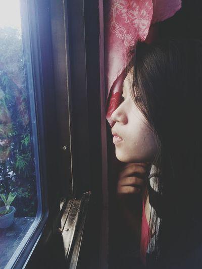 EyeEm Selects Child Young Women Human Face Looking Through Window Window Watching Headshot Close-up