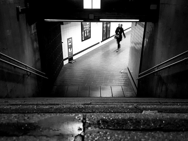 Steps Steps And Staircases Entrance Full Length Staircase Adults Only Walking Built Structure Adult Architecture People Men Real People Silhouette Only Men Lifestyles Indoors  Doorway One Person One Man Only Perspectives On People Black And White Friday Monochrome Blackandwhite Black And White EyeEmNewHere Be. Ready.