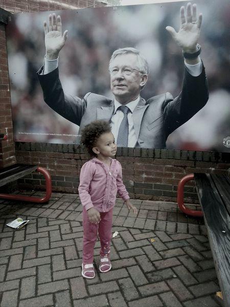 Ichangealot Hanging Out Manchester⚽ Sir Alex Ferguson redamy mybabygirl my2ndlove my heart