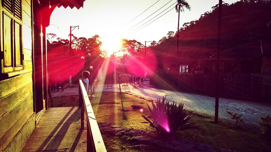 Creative Light And Shadow Enjoying Life Quality Time Enjoying The Sun Paranapiacaba - São Paulo - Brasil