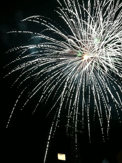 Fireworks Exploding Night Arts Culture And Entertainment Sky Celebration Celebration Event Illuminated Outdoors No People Multi Colored Firework Event Beauty In Nature Traveling