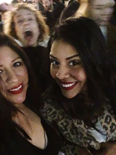 PHOTO BOMBED.... Togetherness Bonding Mother & Daughter First Concert Of The Year Great Night Out! Red Hot Chilli Peppers American Airlines Center Dallas, Tx. Creating Memories