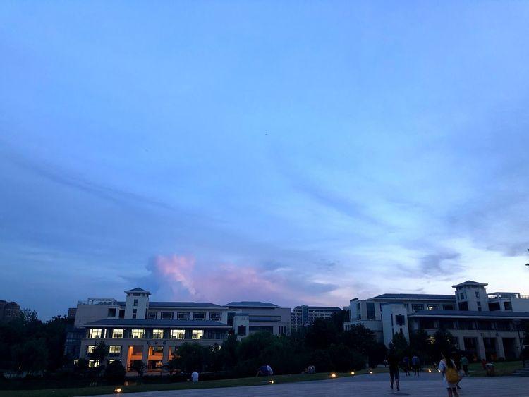 Architecture Building Exterior Built Structure Sky Cloud - Sky Dusk City