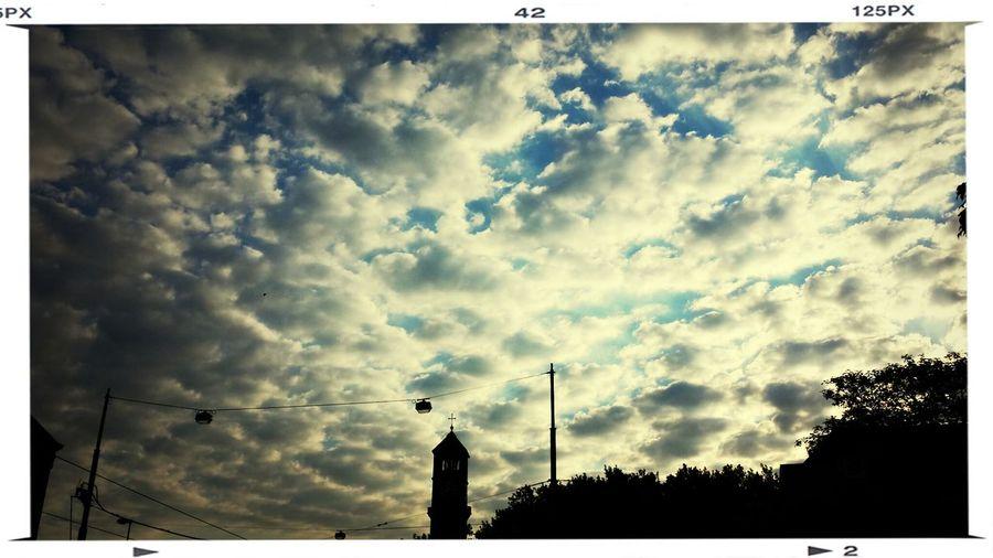 Cloudporn Goodmorning Church Cross