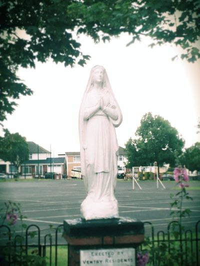 mama Mary Walking Around