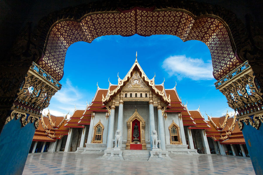 Temple in Bangkok Bangkok Temple Tour In Thailand Travel South East As Travel In Thailand Unseen_Thailand Amazing Thailand Architecture Building Exterior Built Structure Day No People Outdoors Place Of Worship Religion Sky Spirituality Travel Thailand Travel Destinations Travel To Asia