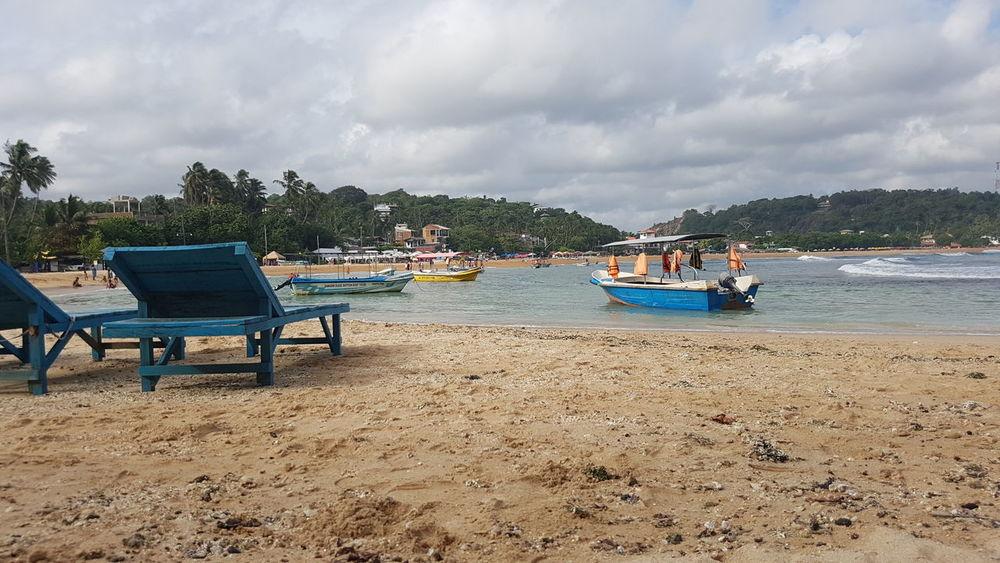 Unawatuna Boat Beach Nature Sri Lanka Galle