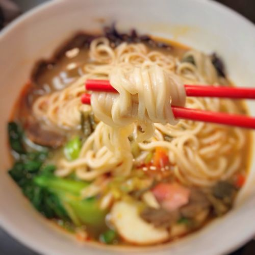Grabbing some heat for a cold winter night, Kung Fu Noodles from Raren Heat Warmth Winter Spicy Lamen Kung Fu Noodles Beef Noodle Soup Raren Noodles Food And Drink Food Ready-to-eat Indoors  Noodle Soup Bowl Selective Focus Soup Close-up No People EyeEmNewHere EyeEmNewHere