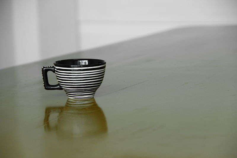 coffee cup on