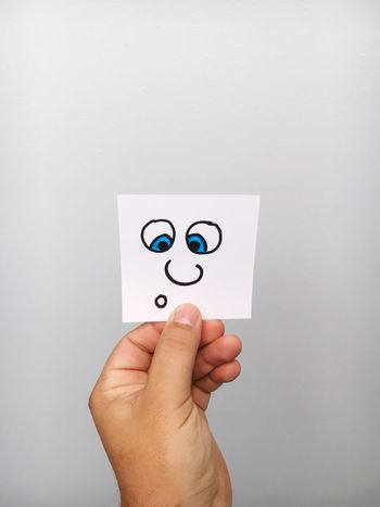 Comic Human Hand Human Body Part One Person Men Communication Close-up White Background Indoors  Adult One Man Only People Day Adults Only Draw Drawing Drawings Artworks Art ArtWork Creativity Face Faces Paper Paper View