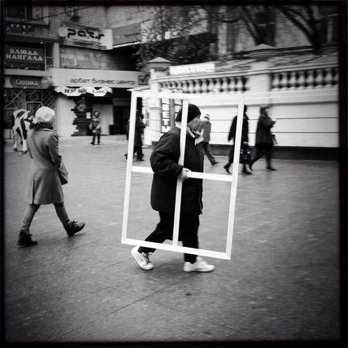 Jogging Blackandwhite Moscow
