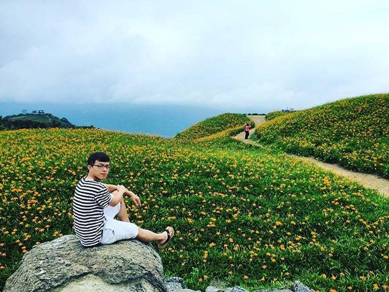 趕上花季的尾巴 _ 環島 六十石山 金針花 花海 Liushidan Mountain Hualien Taiwan Formosa Hemerocállis Orangedaylily Fulvousdaylily Flowers Flowerfield Travelroundtaiwan Aroundtheisland