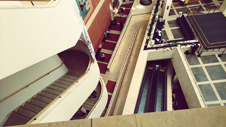 EyeEm Selects British Library Architecture Built Structure Business Finance And Industry Indoors  Day Modern Spiral Staircase No People Politics And Government Breathing Space Investing In Quality Of Life The Week On EyeEm EyeEmNewHere