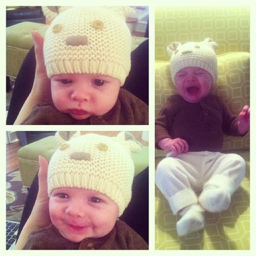 The many faces of Wes. @mrs_curry Chubcheeks Goofball Meltdown