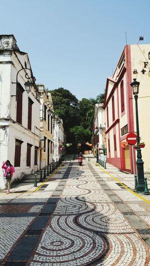 Macau Cobblestone Portugese