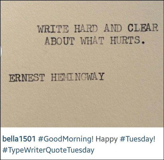 Typewriterquotetuesday
