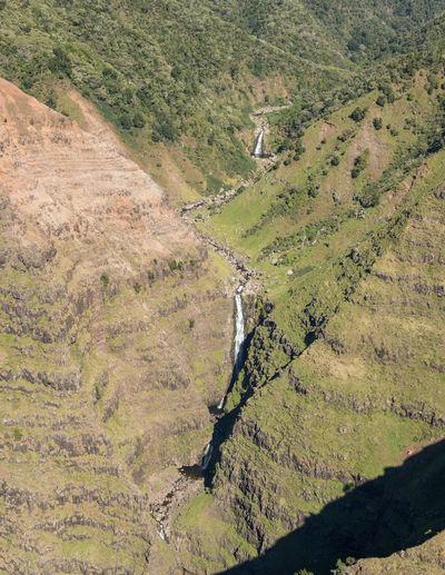 Helicopter tour of the Hawaiian island of Kauai with aerial shots of the Waimea Canyon Kauai Kauai Hawaii Hawaii Tourism Tour Helicopter Helicopter View  Aerial View Aerial Aerial Photography Aerial Shot From Above  Landscape Island Na Pali Na Pali Coast Waimea Canyon Waimea Canyon Valley