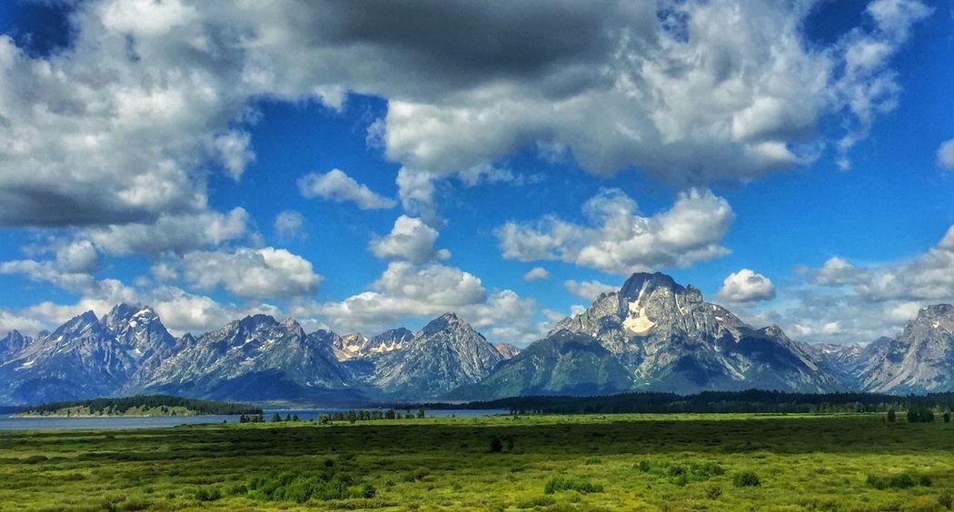The Grand Tetons Grand Teton National Park  Tetons Landscape