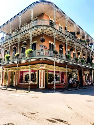 New Orleans New Orleans French Quarter New Orleans Architecture Built Structure Architecture Sky Building Exterior Day Nature Building
