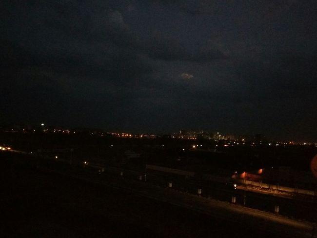 Enjoying Life Hello World city lights