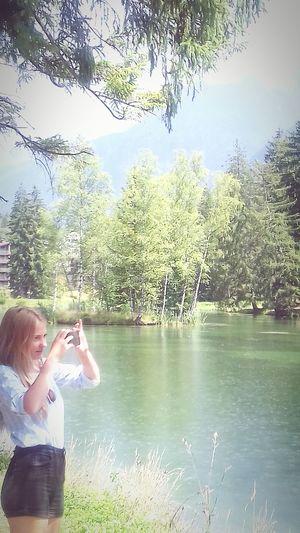 CHAMONIX Nature Lake Tree Water