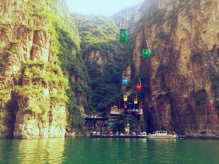 龙庆峡 风景区
