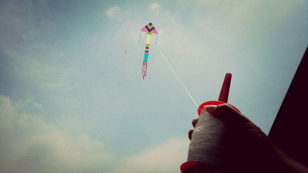 fly kite Enjoying Life Winze's Life Kite Flying Hsinchu, Taiwan