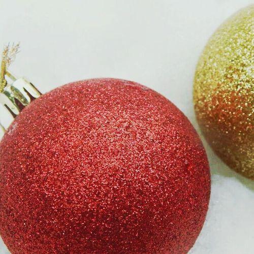 Snow Time :) Christmasballs Merry Christmas! Having A Nice Time