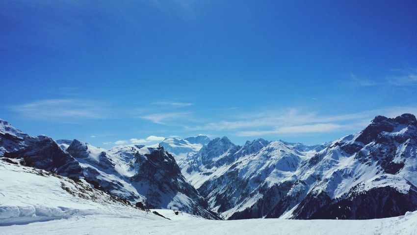 Montagnes Neige❄ Mountains Winter Pralognan La vanoise