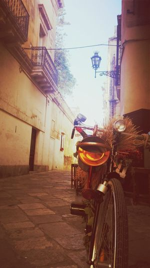 First Eyeem Photo Wonderful Place Nice Pic Italy Holidays Lecce Bike Sunlight Awesome Lecce City