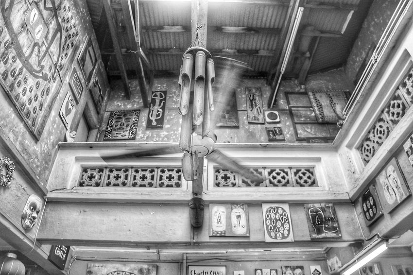Old Building. Indoors  Architecture Built Structure No People Close-up Low Angle View EyeEm Selects Travel Destinations Day Blackandwhite Black & White Indoors  Blackandwhite Photography Blackandwhitephotography City Malaccaheritagecity Malacca Historical Place Malacca Photo