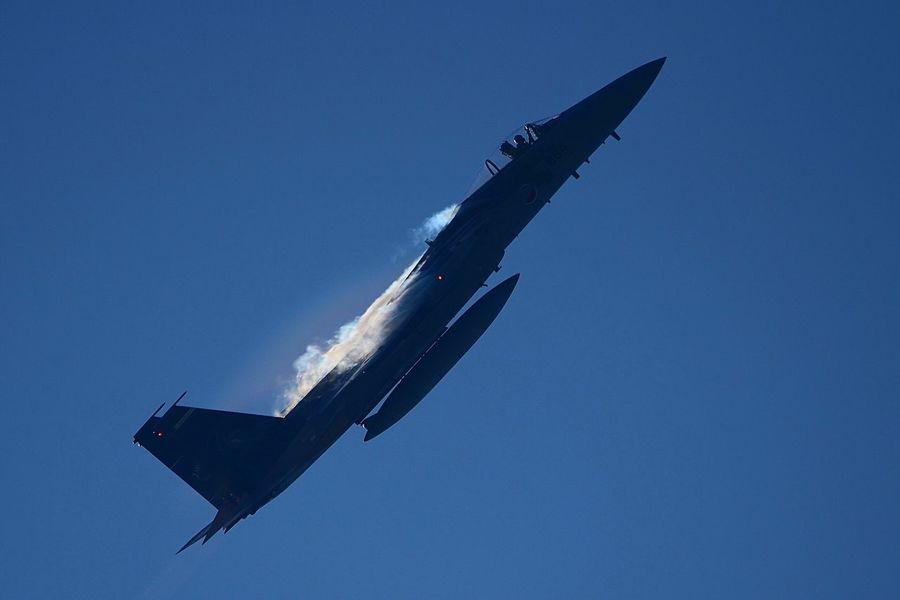 F-15J Vapour F-15 Komatsu Komatsu Airport Vapor