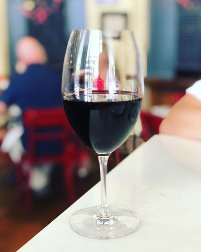 time for a glass of red Red Wine Alcohol Refreshment Glass Food And Drink Drink Table Still Life Wine Freshness Wineglass Drinking Glass Focus On Foreground Glass - Material