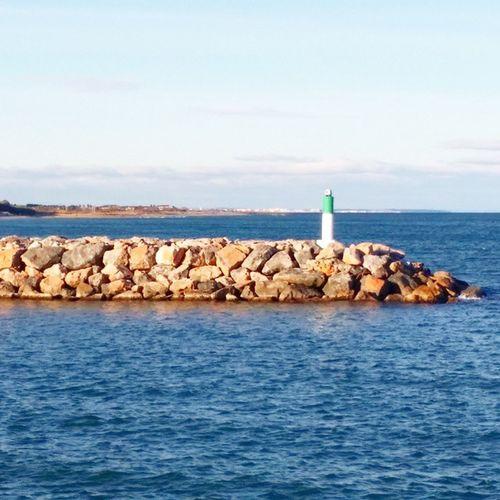 Jetée du Port de CanetEnRoussillon Mer Méditerranée PyrénéesOrientales LanguedocRoussillon PaysCatalan SudDeFrance igers igersfrance