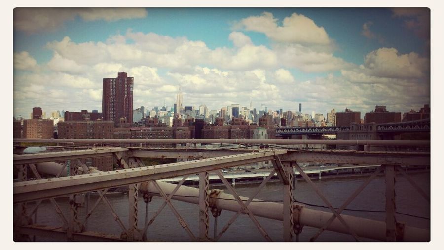 NYC From The Brooklyn Bridge  Sky_collection Skyline City View