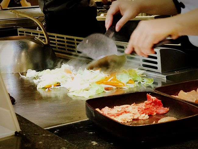 Fry Food And Drink Food Japanese  Tepanyaki Cooking Freshness Delicious Ingredient Vegetable Healthy Eating Food And Drink Cooking Pan Vegetarian