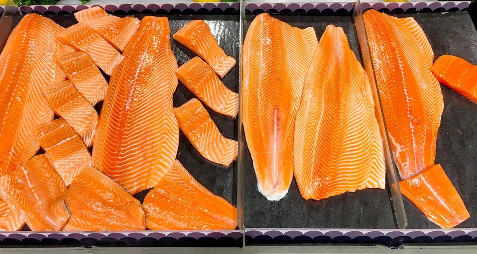 Salmon Food Raw