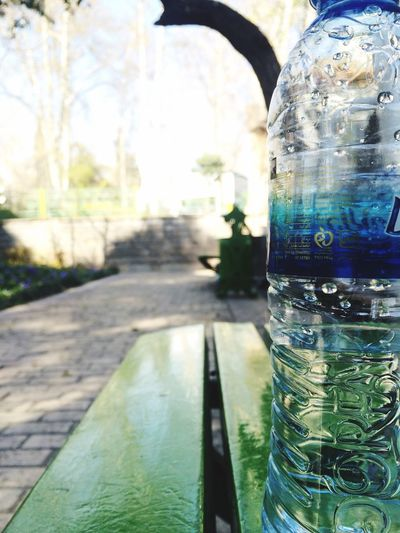 IPhoneography Streetphotography Park Water Mineral Water Benches Bench Tehran Iran Iran♥