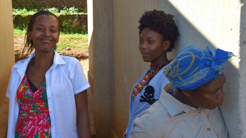 Ntungamo School Uganda Teachers School Uganda  Africa Friendship Portrait Women Looking At Camera Young Women Females Representing