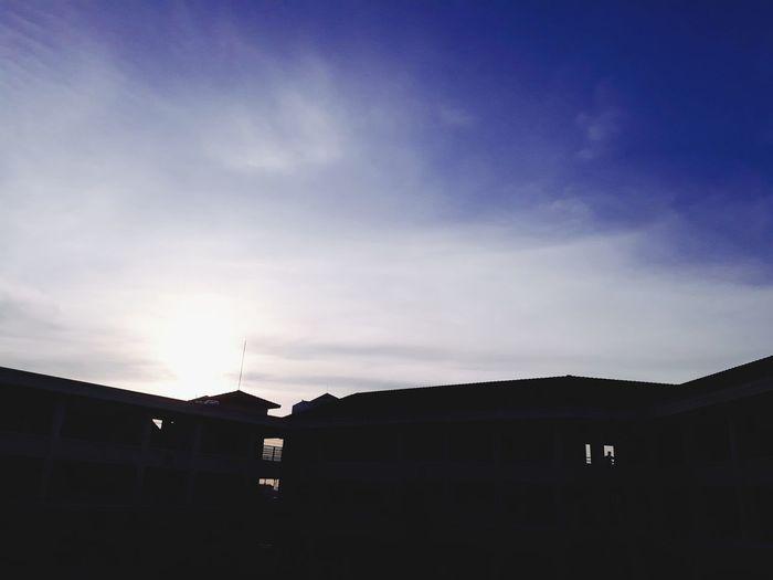 6.45am at Tran Quang Khai HighSchool. Peace...