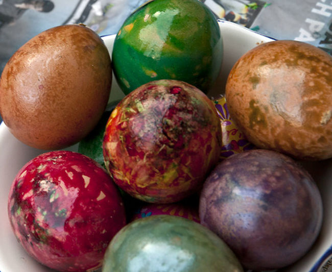 Colourful Easter Easter Ready Eggs Painted Easter Egg Painted Eggs Tradition Traditional Culture