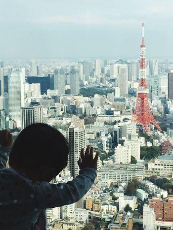 Tokyo Japan Japanese Child Child Skyscraper Cityscapes Roppongi Minato-ku